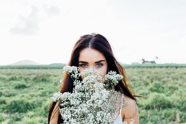花の香りを楽しみリフレッシュ