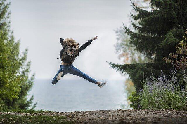 ニオイがなくなって幸せなジャンプ